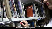 TeensLoveMoney - Library Nerd Fucks For Cash thumbnail