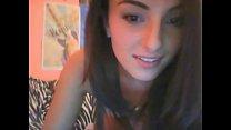 Teen shows her sexy body via webcam - more on www.AllRealCams.com