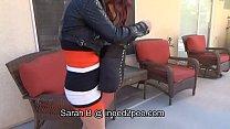 Sarah B. female desperation & wetting her jeans | hot bangla song thumbnail