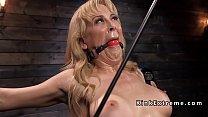 Blonde Milf slave suffers bondage's Thumb