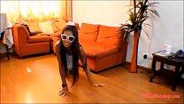 HD Tiny Asian Teen Heather Deep Anal Creampie on Bar Stool After Deepthroating Monster Big  Cock thumbnail