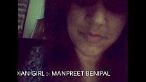 Desi Punjabi Girl Manpreet Showing Herself on Cam pornhub video