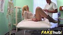 Fake Hospital Dirty doctor gives blonde Czech babe wet panties » jungle rape thumbnail