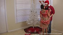 Image: Madisin Lee in Mom and Stepdaughter Decorate More than the Christmas Tree