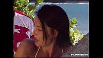 Anal Tropical threesome with Gina and Zana Sun Vorschaubild