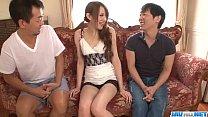 Excellent threesome alng superb Mai Shirosaki
