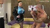 Sexy girlfriend mundknebel