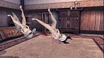 การ์ตูนเสียวสาวจิ้งจอกเต้นยั่วอย่างเด็ดนมสั่นห้ามพลาดเด็ดสุดยอด