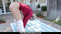 6327 TheRealWorkout - Horny Neighbor Get Fucked After Meditation preview