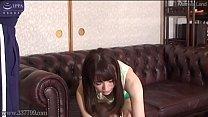 Dog Sniffing Japanese Female Teacher