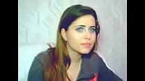 YouTube - Beautiful french brunette cam girl