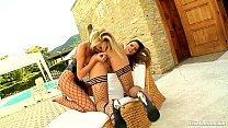 LiveGonzo Peaches and Bambi Euro Teen Lesbians porn thumbnail