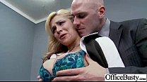 In Office Hard Style Sex With Big Round Boobs Girl (sarah vandella) movie-27