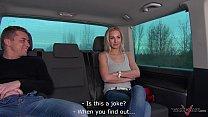 Blonde prefer sex with stranger before her work Vorschaubild