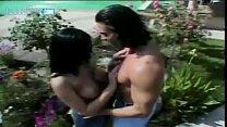 Big Tits Brunette Belladona Gets Her Face Jizzed