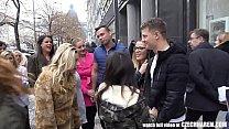 Girls Take Stranger to the Harem HomeParty thumbnail