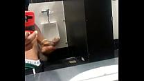 Bos Miami gunning His BBC in restroom