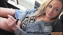 Cute blondie teen babe Vinna Reed gets banged r...
