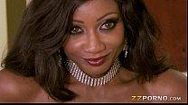 priyanka sex ⁃ Busty ebony call girl diamond jackson loves huge cock in her muff thumbnail
