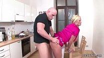 German Monster Tit MILF Seduce to Fuck by Young Boy Vorschaubild