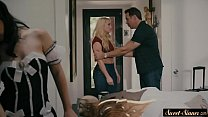 Cockloving stepsister dominated and pounded