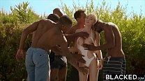 BLACKED Kendra Sunderland BBC interracial GANGBANG!! thumbnail
