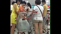 超市黄裙小少妇 - YouTube (720p)