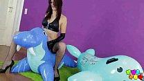 Karina's little inflatable zoo