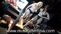 Lesbian fistingy on stage Musa Libertina Yelena Vera Kesha y Sheila Ortega