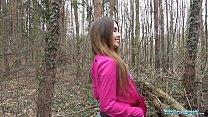 Public Agent Sexy jogger fucked in the woods Vorschaubild