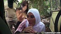 Two arab babes suck a cock صورة