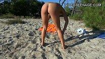 sexy teen nude at beach - jenave jolie thumbnail