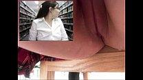 Teen masturbates and squirts in library - slutycams.net pornhub video