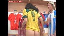 Lesbian Dildo Threesome