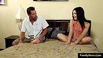 Daughter caught father masturbating thumbnail