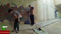 Painting graffiti with semen thumbnail