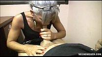 Slutty Granny Blowjob Vorschaubild