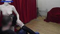 Wild amatuer chick shows striptease and masturbation [체코 czech]