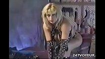 Vintage Busty M ature Stripping Masturbating P  Masturbating Pandora Peaks