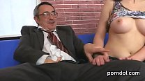 Lovely schoolgirl gets seduced and pounded by her older teacher