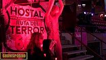 BDSM fetish show in public thumbnail