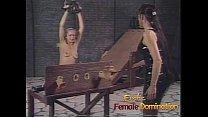 Beautiful slave girl experiences a whole new le...