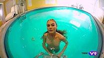 Tmw VR net - Nancy A - SLENDER BLONDE SWIMMER FUCKED A HORNY STALKER image