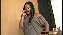 Ebony babe sucks and fucks several white dudes 24 preview image