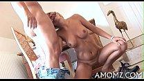 Mom gets vagina ready for fuck