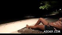 Free download video bokep Thai beauty masturbates and sucks