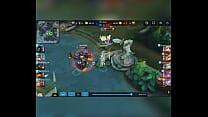 Heroes evolved - Zorro comendo o time inimigo todo gostoso
