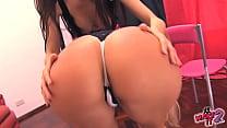 BIG-ASSES TEENS Fooling Around. Lingerie! Skirt...