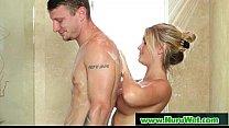 Pretty busty babe slippery sex nuru massage 12 video