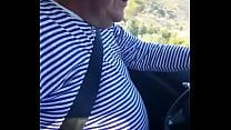 coroa taxista pegando o pau do passageiro